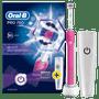 2 - Oral-B električna četkica za zube Pro 750 3DWhite Pink +  putna torbica