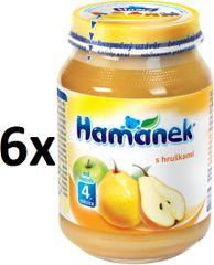 Hamánek S hruškami 6x190g