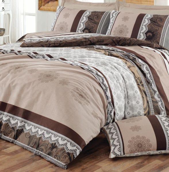 Homeville Povlečení bavlna Dantella plus povlak na polštář 50x70 cm