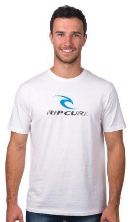 Rip Curl pánské tričko L biela