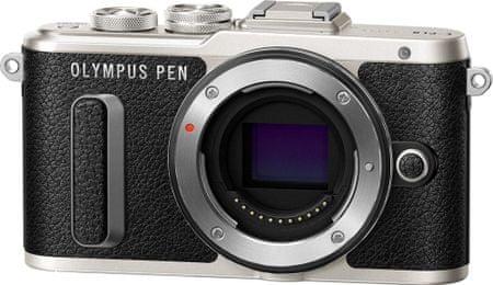 Olympus fotoaparat E-PL8 Body, črn