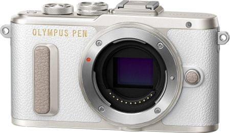 OLYMPUS E-PL8 Digitális fényképezőgép, Váz, Fehér