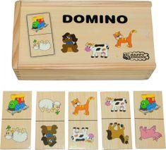 Woody Domino - lokomotywa i zwierzątka 93001