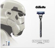 Gillette zestaw Star Wars - 1x maszynka + 2x głowice + 1x żel 75ml