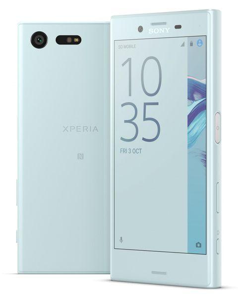 Sony Xperia X Compact, mlhová modrá