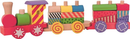 Woody Favonat építőkockákkal Fajáték