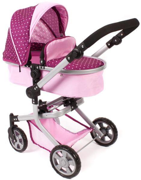Bayer Chic Kombinovaný kočárek MIKA růžová/fialová