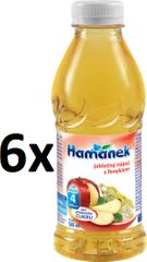 Hamánek Jablkový nápoj s feniklom 6x500ml
