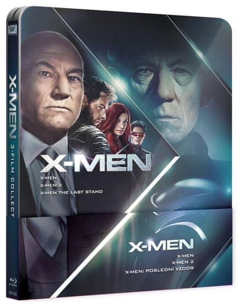 X-MEN Trilogie 1-3 (3BD): X-Men, X-Men 2, X-Men: Poslední vzdor - Blu-ray