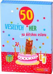 Mindok 50 her na dětskou oslavu