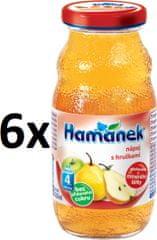 Hamánek S hruškami 6x210ml