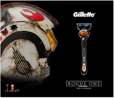 Gillette Fusion ProGlide Holicí strojek + Náhradní hlavice + gel na holení 75 ml