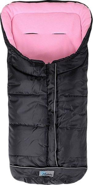 Altabebe Fusak zimní Easy Lux, černo-růžová