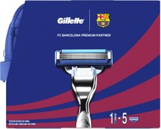 Gillette Mach3 Dárková sada FC Barcelona