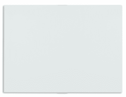 Piši-Briši bela steklena tabla MGB4040W, 40x40 cm