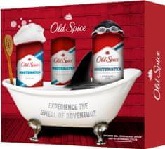 Old Spice Kazeta deodorant + sprchový gél + voda po holení WhiteWater