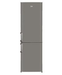 BEKO CS-234030S Szabadonálló alulfagyasztós hűtő, Silver