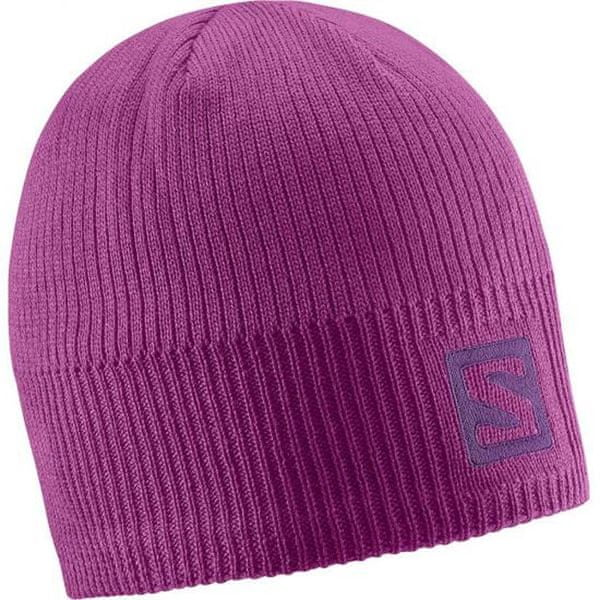 Salomon Logo Aster Purple