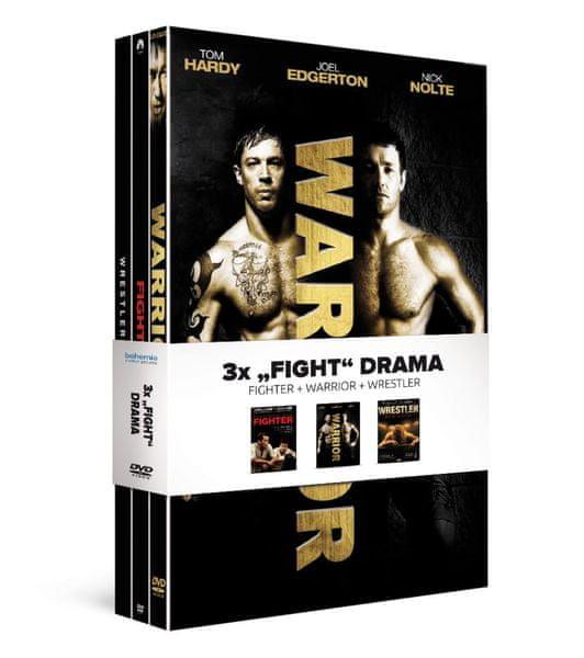 """3x """"Fight"""" drama (3DVD): Fighter + Warrior + Wrestler - DVD"""