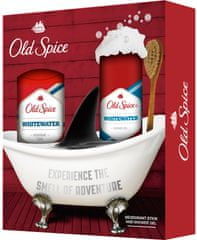 Old Spice Whitewater Deostick 50 ml + Sprchový gel 250 ml Dárková sada