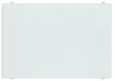 Piši-Briši bela steklena tabla MGB100150W, 100x150 cm