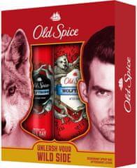 Old Spice WolfThorn Deospray 125 ml + Voda po holení 100 ml Dárková sada