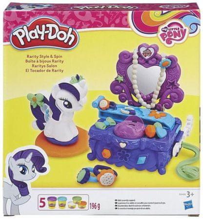 Play-Doh Én kicsi pónim Szépségszalon Gyurmakészlet