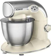 BOMANN kuhinjski stroj za testo, krem (KM305CB-K)