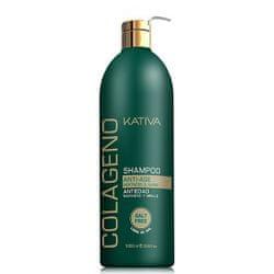 Kativa szampon rewitalizujący z kolagenem Colageno Shampoo - 1000 ml