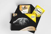 Sheba saszetka Selection in Sauce z kurczakiem 85g + przysmak Deamies z serem 30 g