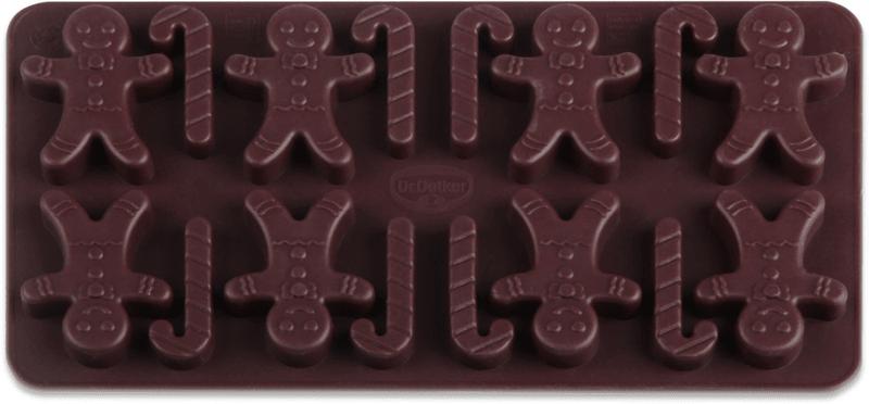 Dr.Oetker Silikonová forma na čokoládu panáček