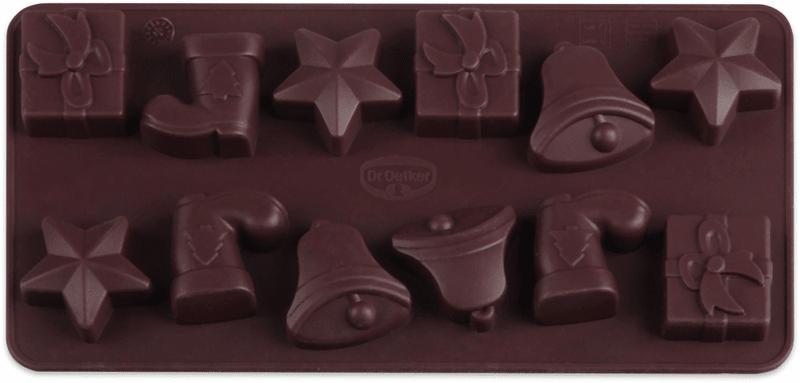 Dr.Oetker Silikonová forma na čokoládu vánoční