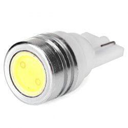 M-LINE žarnica LED 12V W5W-T10 1x1W HIGH POWER, bela, par