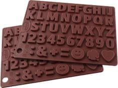 Dr.Oetker silikonski model za čokoladne črke in številke