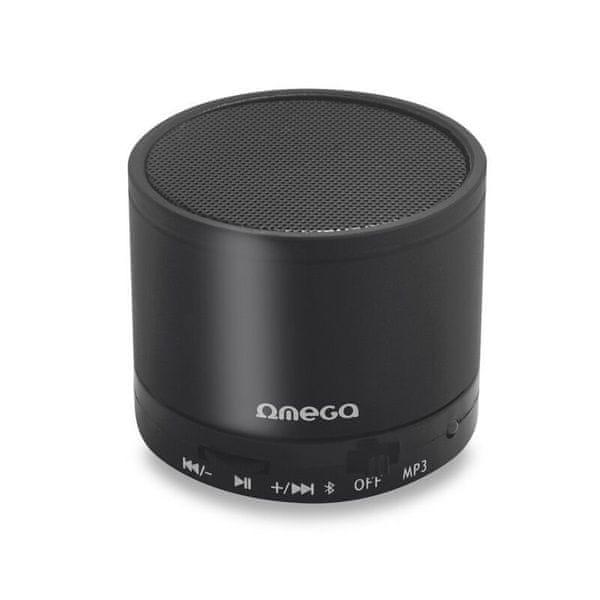 Omega Bluetooth reproduktor OG47B, černý