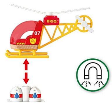 Brio gasilni helikopter