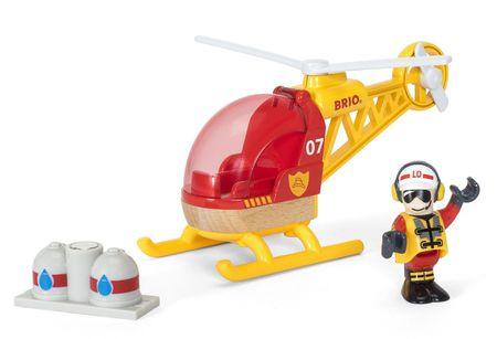 Brio Vrtuľník hasiči