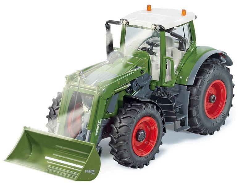 SIKU Control - Traktor Fendt Vario s předním nakladačem