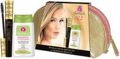 Dermacol UltraTech řasenka černá + Sensitive Eye Make-up Remover 125ml + Etue