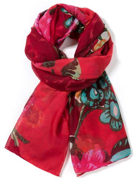 Desigual dámský červený šátek