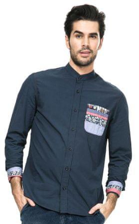 Desigual koszula męska M niebieski