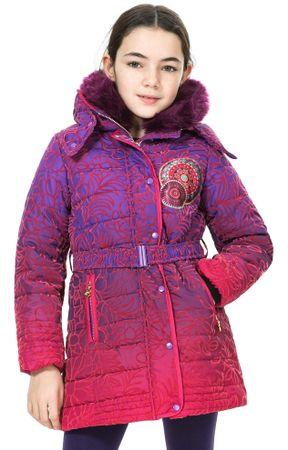 Desigual dívčí kabát 128 viacfarebná
