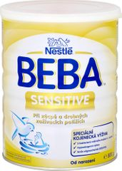 Nestlé Beba Sensitive speciální kojenecké mléko při zácpě, 800 g