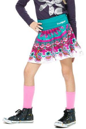 Desigual dívčí sukně 140 vícebarevná