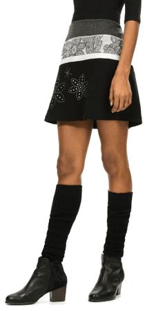 Desigual dámská sukně XL čierna