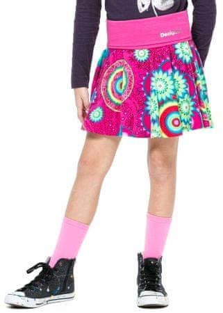 Desigual spódnica dziewczęca 152 różowy