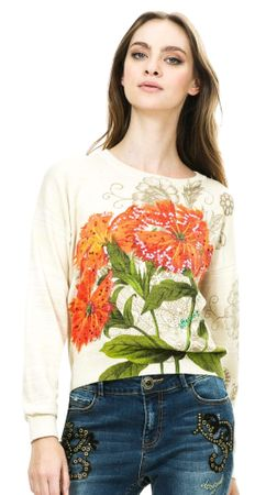 Desigual ženski pulover M zlata