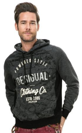 Desigual muški pulover XL siva