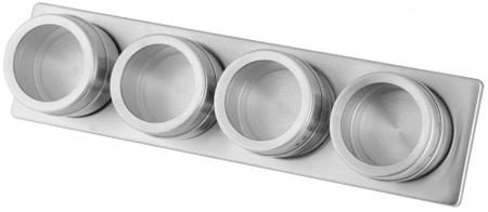 Fackelmann zestaw pojemników na przyprawy na magnes