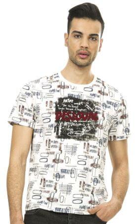 Desigual pánské tričko L bílá